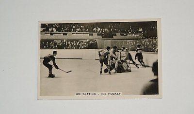 Card Pickers 1935 Illingworth's Sports Hockey Card Winnipeg Monarchs Rare!