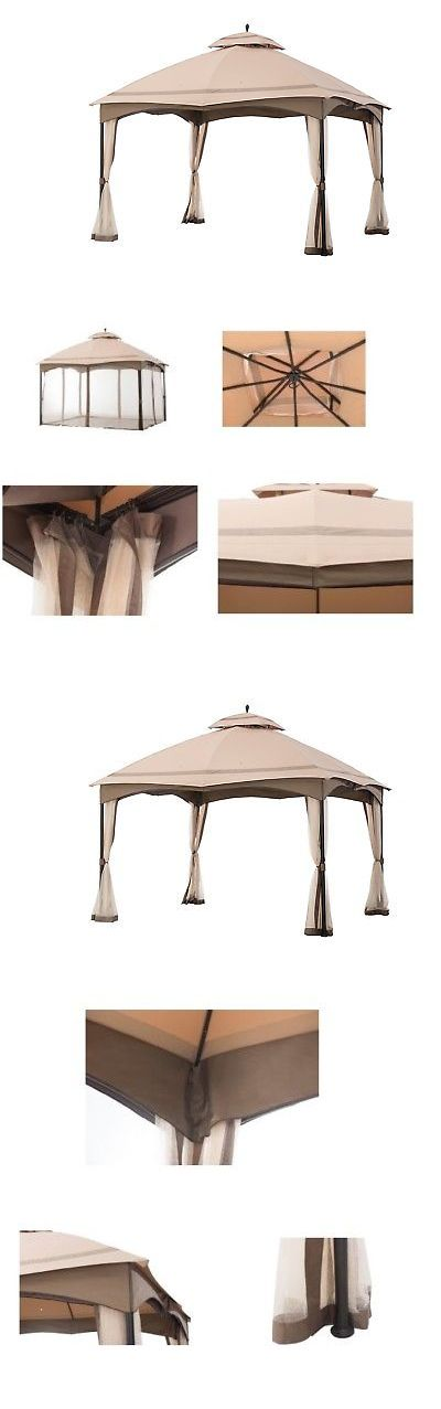 Gazebos 180995: Outdoor Gazebo With Mosquito Netting Canopy 10 X 12 Garden Patio Wedding -> BUY IT NOW ONLY: $261.83 on eBay!