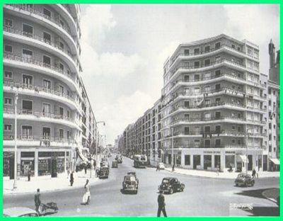 BANCADA DIRECTA: Esta Lisboa antiga que eu amo.  Praça de Londres e Avenida João XXI e Avenida de Roma.