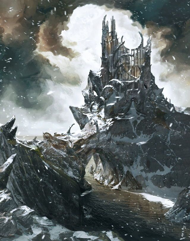 Few Know The Original Purpose Or Even The Name Of The Ruined Tower That Protrudes From Undvik S Rocky Shore It Is Called Tor Gvalch C Locais Rpg In This World