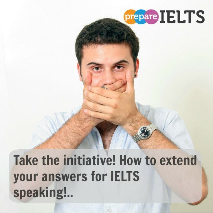 Many people only give short answers when speaking in IELTS..don't be one of them, learn how to extend your answers by reading my blog post...