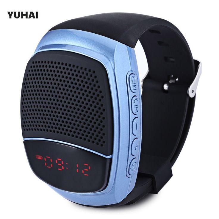 YUHAI B90 Bluetooth Outdoor Sports Music Watch Speaker Wristwatch Support Self-timer TF Card FM Radio 400mAh Battery Smart Watch //Price: $24.96      #sale