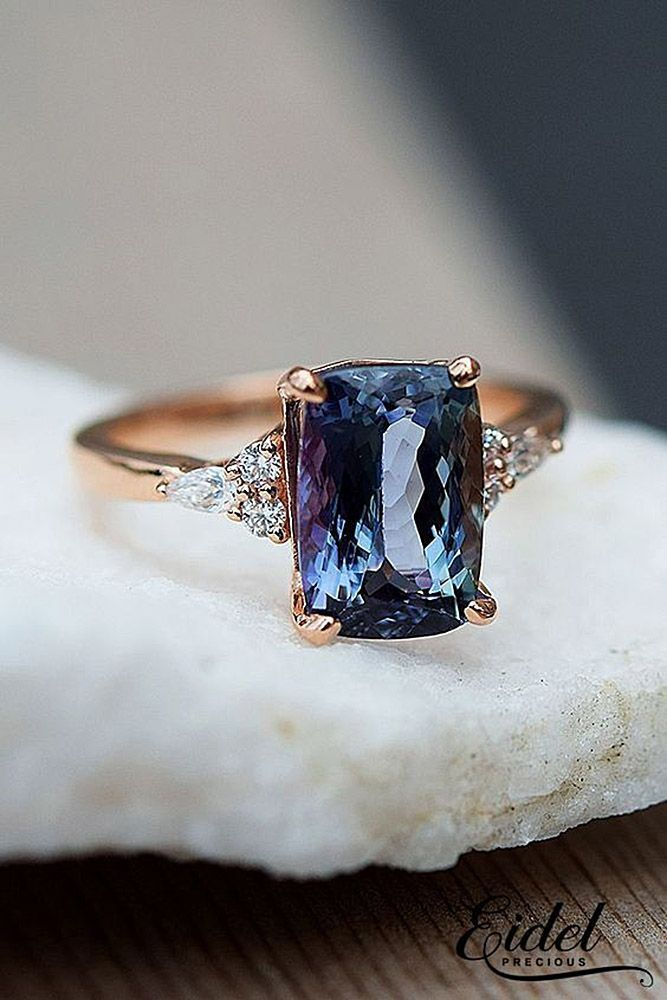 2018/2019 Engagement Ring – 60 rings TOP 2018: Fresh Trends in the Engagement Ring – Trends in the Sapphire Ring