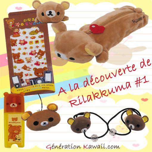 Rilakkuma est chez www.generation-kawaii.com ☼ ♥