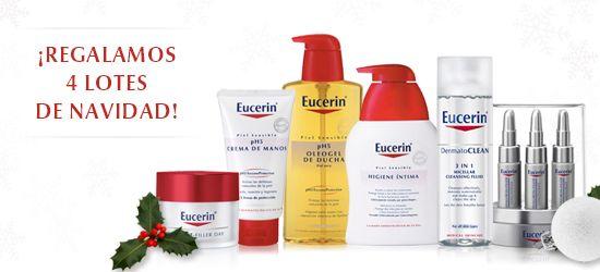 Club Eucerin®: Lotería de Navidad Eucerin®. Canjea 50 puntos por cada décimo de nuestra lotería y ¡que la suerte te acompañe!