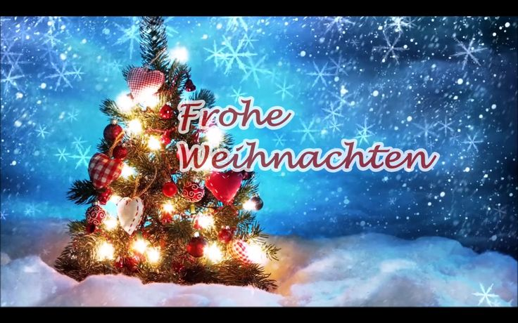 Frohe Weihnachten und ein glückliches Neues Jahr – MERRY CHRISTMAS and HAPPY NEW YEAR https://www.youtube.com/watch?v=ChSev1MqV7E