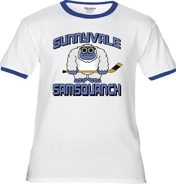 BUBBLES' SUNNYVALE SAMSQUANCH Hockey Premium T-Shirt -Many Color Options -Ringers/Cottons/Blends/Tank Tops -Trailer Park Boys Ricky Julian