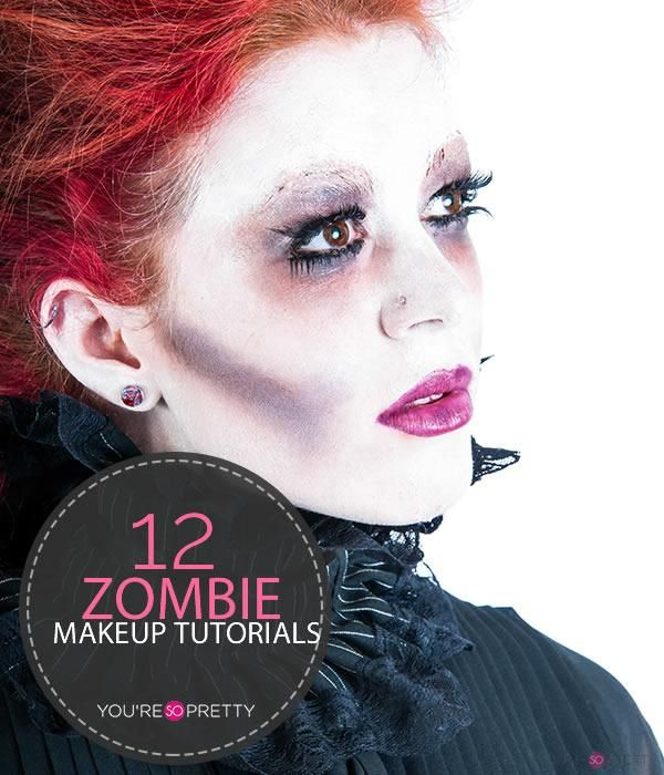 Really Awesome Zombie Makeup Tutorials