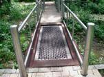 Rollstuhlfahrer- Trampolin, Sprungfläche 90*250 cm