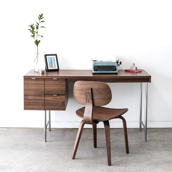 Gus Modern The Conrad Desk Is A Compact Home Office With Strong