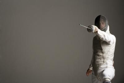 """I miss foil and epee. """"retired"""" until I can rehab my knee again.  Try it just for fun.  You might absolutely fall in love with the Sport.  Good Form Saves Knees :)    Fencing Sport Information"""