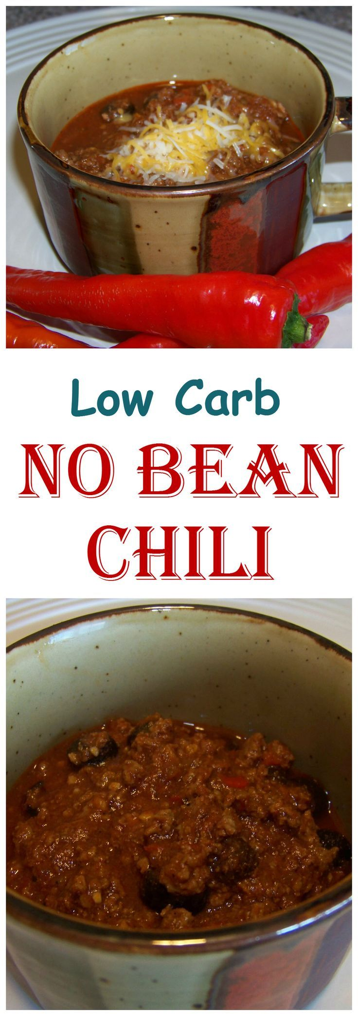 no bean low carb chili recipe things to make bean chili and no bean chili. Black Bedroom Furniture Sets. Home Design Ideas