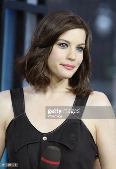 Liv Tyler Visits MTV's 'TRL' - May 20