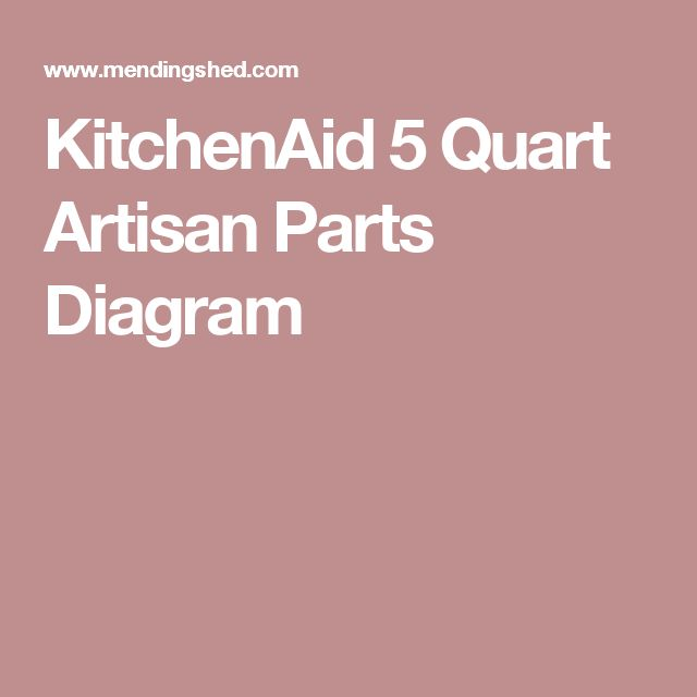 25+ best Kitchenaid mixer parts ideas on Pinterest