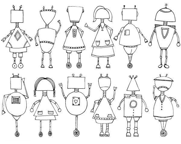 pdf dessin a imprimer robot