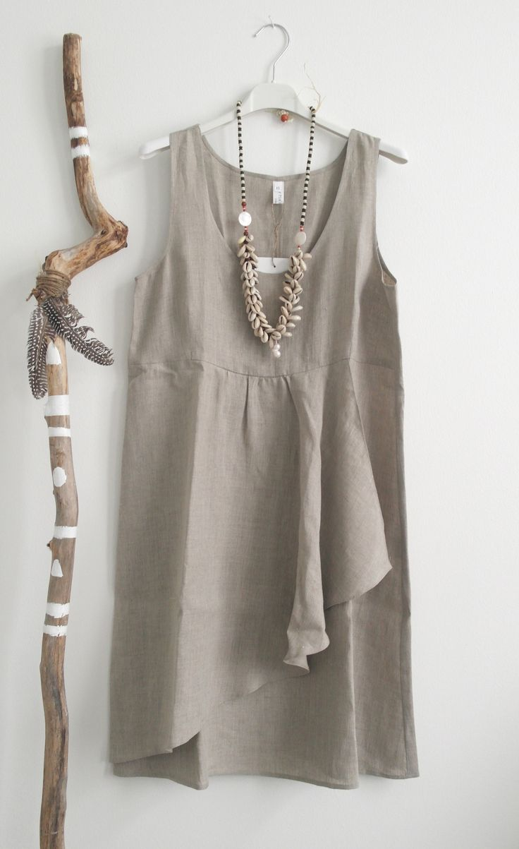 BYPIAS Linen Dress DREAM / @bypiaslifestyle www.bypias.com