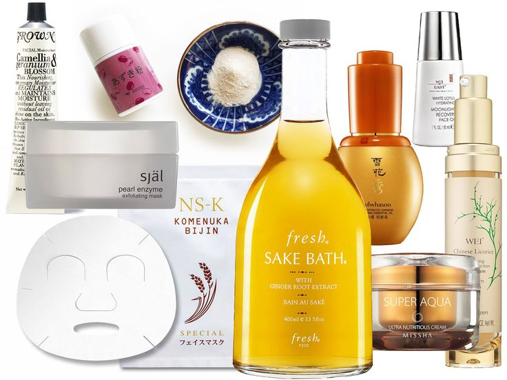 The Global Girl shares her selection of top skin-enhancing products inspired by Asian beauty staples, from a sake bath to snail cream.