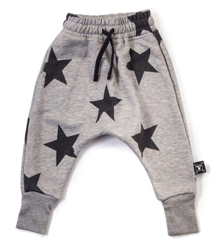 Our Brands :: Nununu :: Star Baggy Pants Heather Grey -