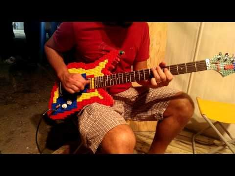 Someone Built a LEGO Guitar You Can Actually Play | Mental Floss