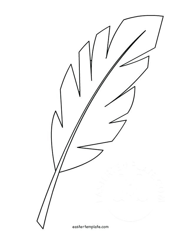 Palm Tree Leaf Template Preschool To Tiny Hosanna Palm Leaf Free