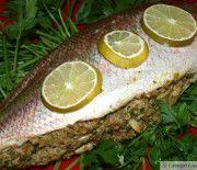Crab-Stuffed Yellowtail Snapper (Whole Fish)