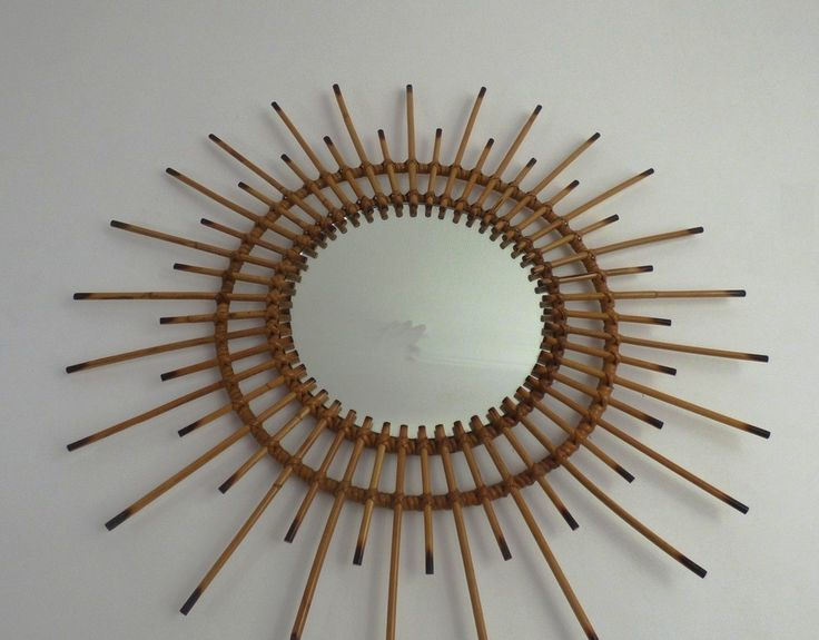Miroir osier soleil decora o pinterest decora o for Miroir soleil osier