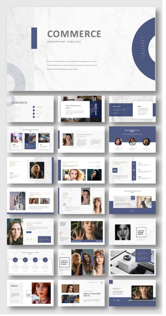 2 In 1 Blue Red Creative Powerpoint Template Original And High Quality Powerpoint Templates Powerpoint Presentation Design Powerpoint Slide Designs Creative Powerpoint Templates