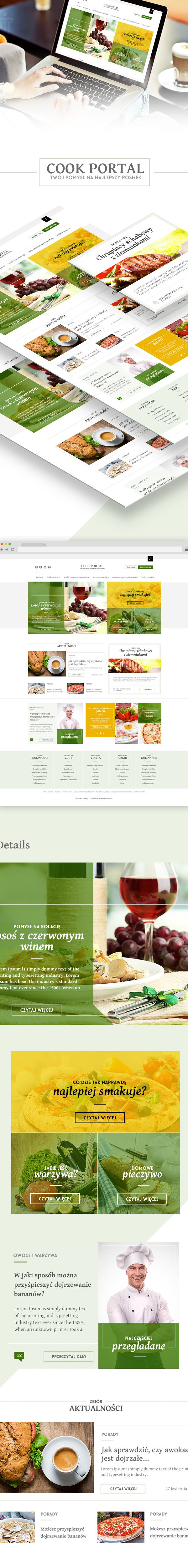 CookPortal by The Varo, via Behance