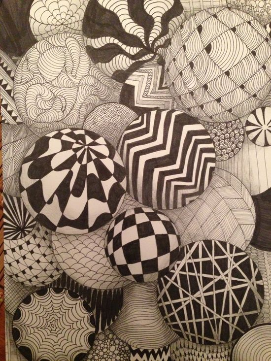 Trapeze Bar Shoreditch: Geometric Patterned Juggling Balls. Inspiration Behind The