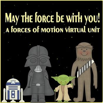 Teach forces and motion with this fun virtual unit.  It lets the kids visit interactive websites, record information, and do hands-on activities to teach and reinforce 10 different forces of motion skills (including, simple machines, waves, magnets, mass, net force, pulls/pushes, friction, centripetal force, gravity, etc.) Includes 68 page powerpoint and 86 page journal.   $14.95