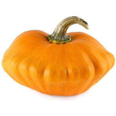 orange pumpkin-y gourd
