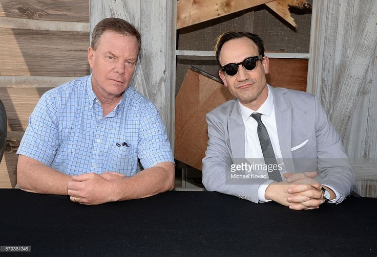 Producer Robert Tapert and actor Ted Raimi attend the 'Ash vs Evil Dead' autograph signing during Comic-Con International 2016 at PETCO Park on July 23, 2016 in San Diego, California.