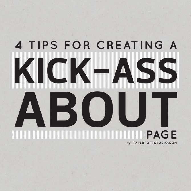 Your about page is one of the most important pages on your therapy website. Here are 4 tips for creating a kick-ass About page