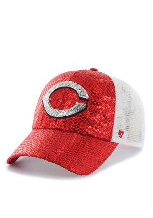 '47 Cincinnati Reds Red Dazzle Mesh Adjustable Hat