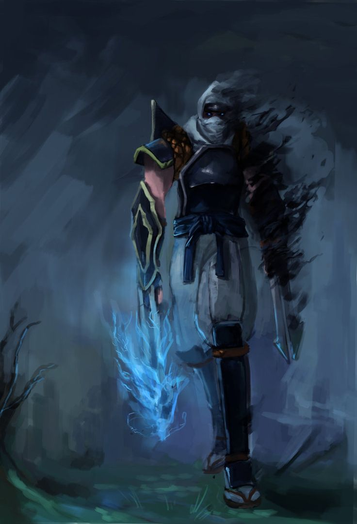 Zed Fanart by RElijahT | League of Legends: Zed, the master of shadows | Pinterest | Fanart ...