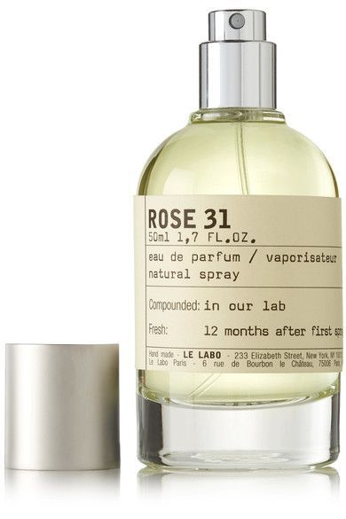 """When creating the iconic 'Rose 31' scent, Le Labo's mission was clear: """"transform the famous Grasse Rose, a symbol of femininity, into an assertively virile fragrance."""" Intended for both men and women, 'Rose 31' uses rose petals handpicked in Grasse, France and grounded with warm, spicy and woody notes of Cumin, Cedar and Amber."""