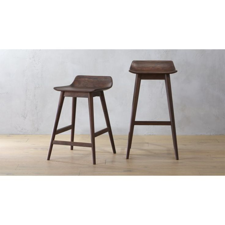 Elegant Aluminum Bar Stool with Back