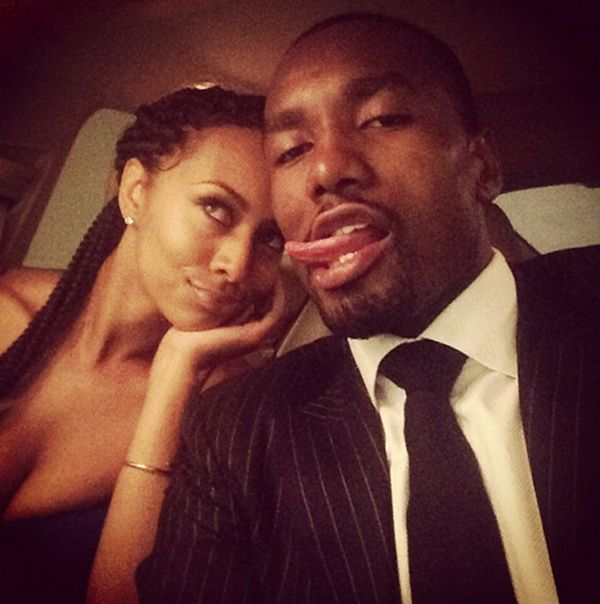 To have someone to be silly with...  Keri Hilson and Serge Ibaka