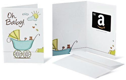 Amazon.com $50 Gift Card in a Greeting Card (Oh, Baby! Design) - http://www.darrenblogs.com/2016/08/amazon-com-50-gift-card-in-a-greeting-card-oh-baby-design/