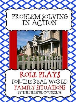Problem Solving Role Play Activity Pack:Problem Solving Solutions PowerPoint Slide Show with 12 problem solving solutions. WorksheetsProblem Solving Solutions Outline Worksheet. (Key Included)I-StatementsWhich Is BestWhat Problem Solving Looks Like 12 Problem Solving Solution Mini-Cards12 Role Playing Situation Cards*NOTE: Role playing cards are not scripted plays.