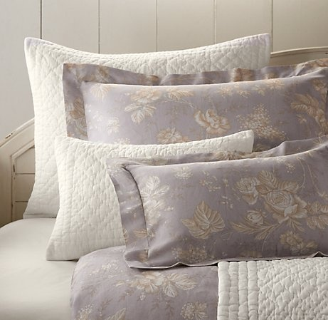 Purple Shabby Chic Bedding For Alessia