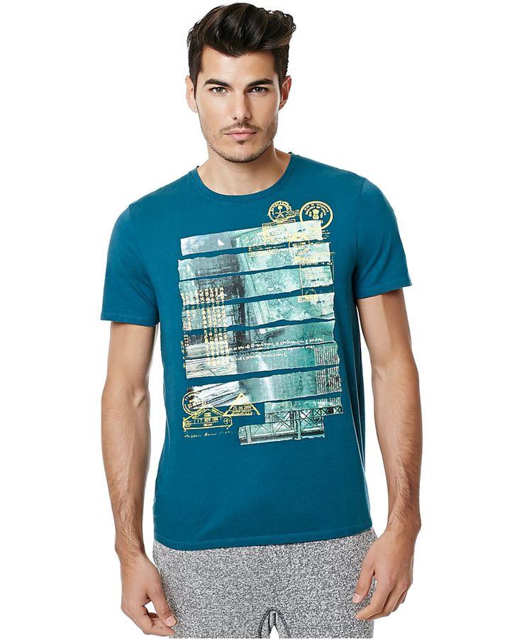 Buffalo David Bitton Men's Nestle Graphic-Print T-Shirt - T-Shirts - Men - Macy's