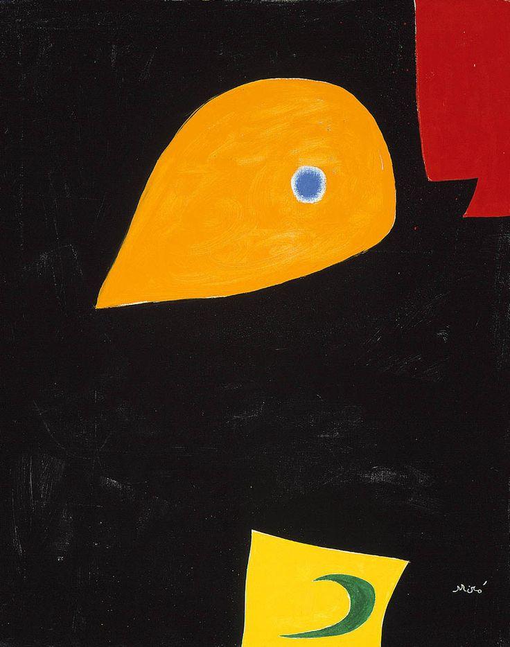 Head (1976)   Joan Miró (Catalan: 20 April 1893 – 25 December 1983) was a Catalan Spanish painter, sculptor, and ceramicist born in Barcelona   http://www.pinterest.com/richtapestry/retro-design/