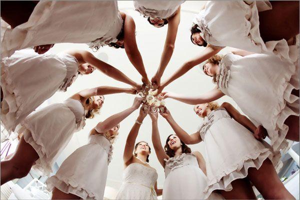 bride with bridesmaids wedding photography poses | Pre Wedding Music - Relaxing Music | Wedding Planning, Ideas ...