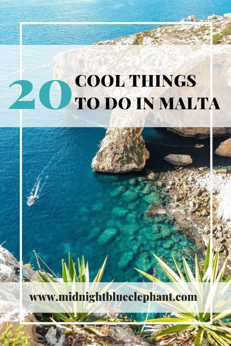20 coole Dinge zu tun in Malta.