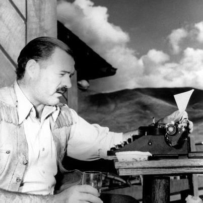 Ernest Hemingway (born July 21, 1899)