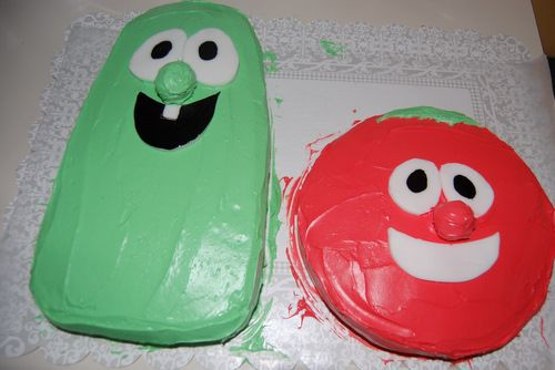 veggie tales party