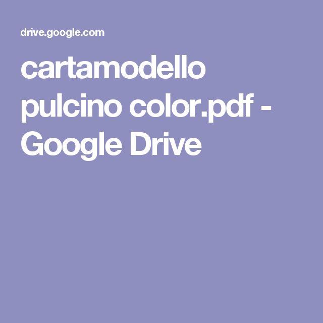 cartamodello pulcino color.pdf - Google Drive