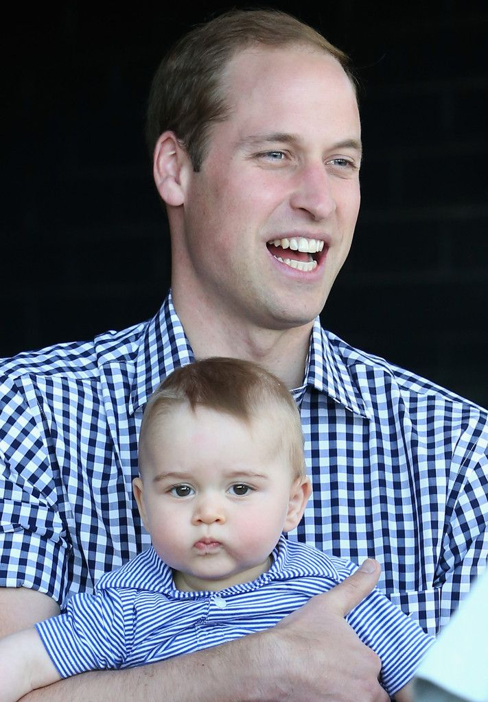 Prince George Photos: The Duke And Duchess Of Cambridge Tour Australia And New Zealand - Day 14