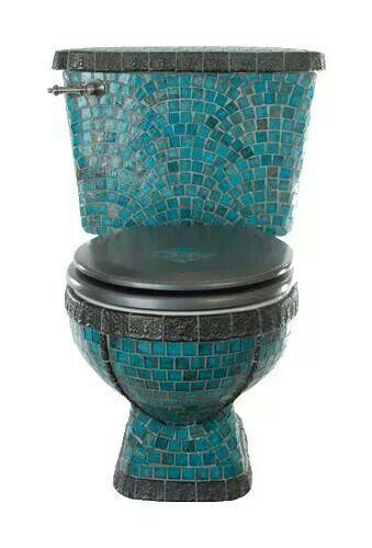 Old toilet? Tile it!